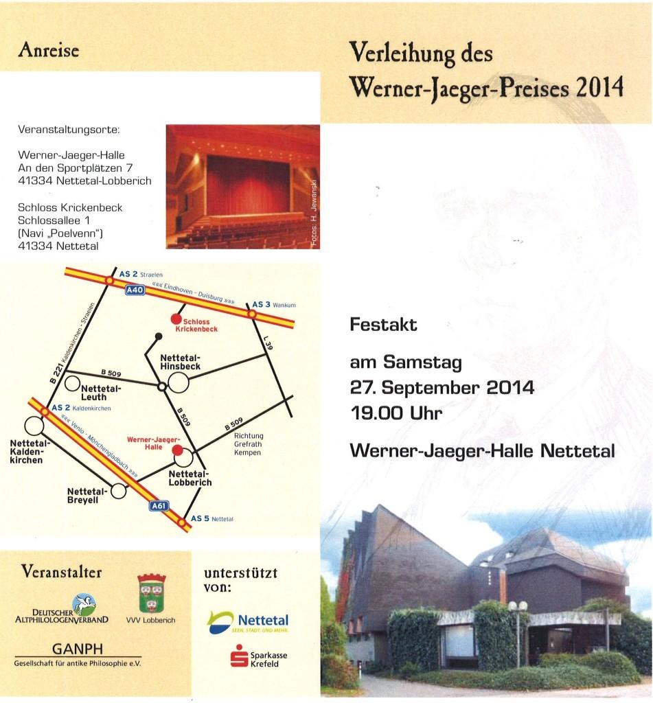 Werner-Jaeger-Preis