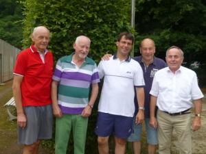 v. lks.: Dr. Peter Buysch, Reinhard Maly, Dr. Marcus Optendrenk, Reinhard Bismanns, Hans-Georg Lünger