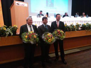 v.l.n.r.: Uwe Schummer, Marcus Optendrenk, Stefan Berger