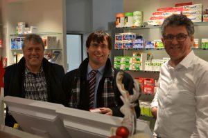 v.l.n.r.: Uwe Schummer, Marcus Optendrenk, Ralf Weckop