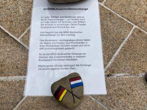 #NRWMutmacherSteinschlange