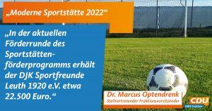 Statementtafel für Moderne Sportstätten 2022_Nettetal